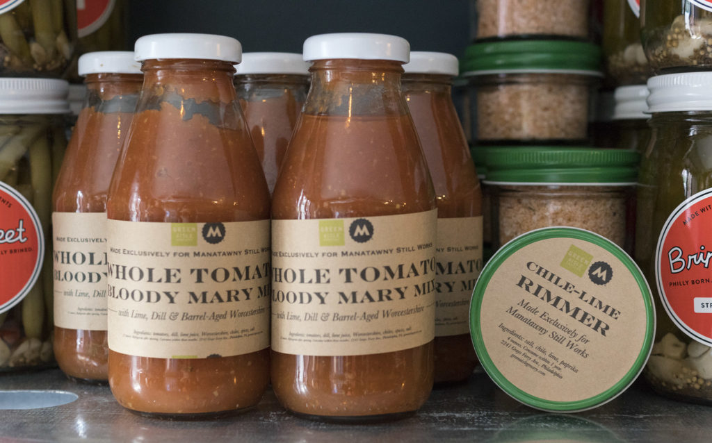 Green Aisle Grocery produces custom products for the tasting room