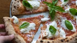 Margherita pizza at Medusa in Fishtown