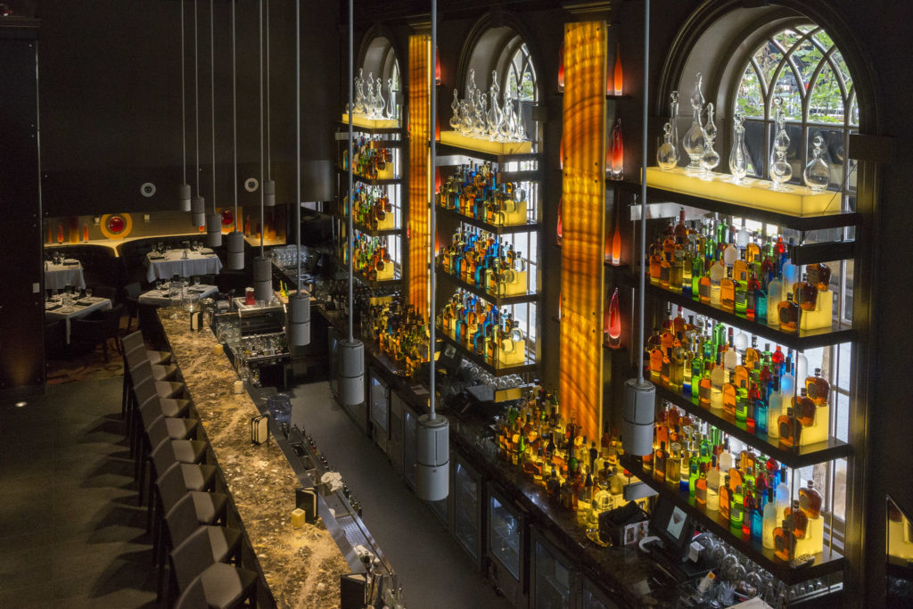 Ocean Prime makes use of its majestic space
