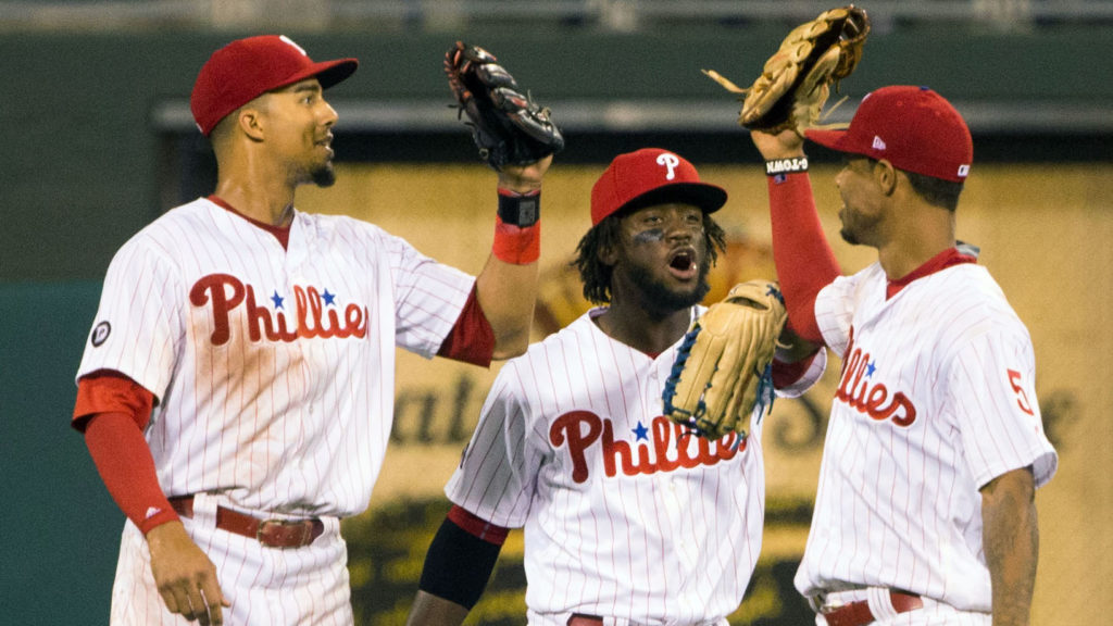 16bf8d4a35e48b Are Aaron Altherr, Odubel Herrera and Nick Williams all a big part of the  Phillies