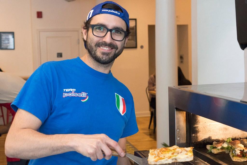 Rione chef and co-owner Francesco Coretti