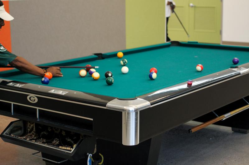 MLK Older Adult Center pool table