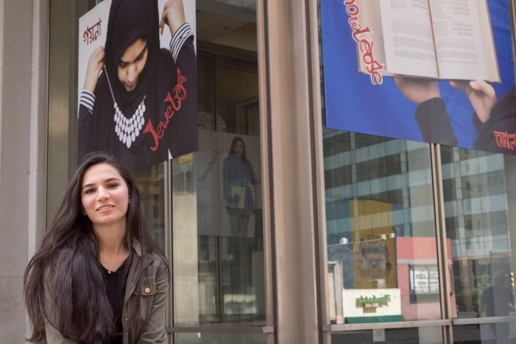 NEHS graduate and Tajikistan native Rushama Nasmova