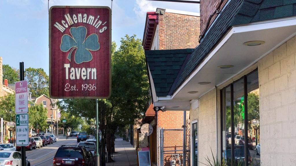 McMenamin's Tavern in Mt. Airy