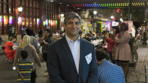 Reading Terminal Market GM Anuj Gupta organized the Breaking Bread, Breaking Barriers dinner series