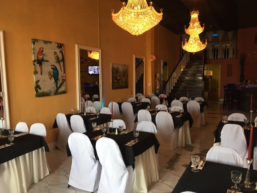 Flambo's dining room