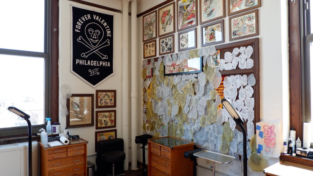Forever Valentine Tattoo, a tattoo and cosmetic procedure studio, owned by Patrick Haney