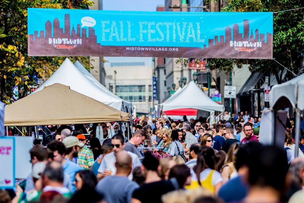 The Midtown Village Fall Festival is a highlight of Philadelphia's busy fall festival season.