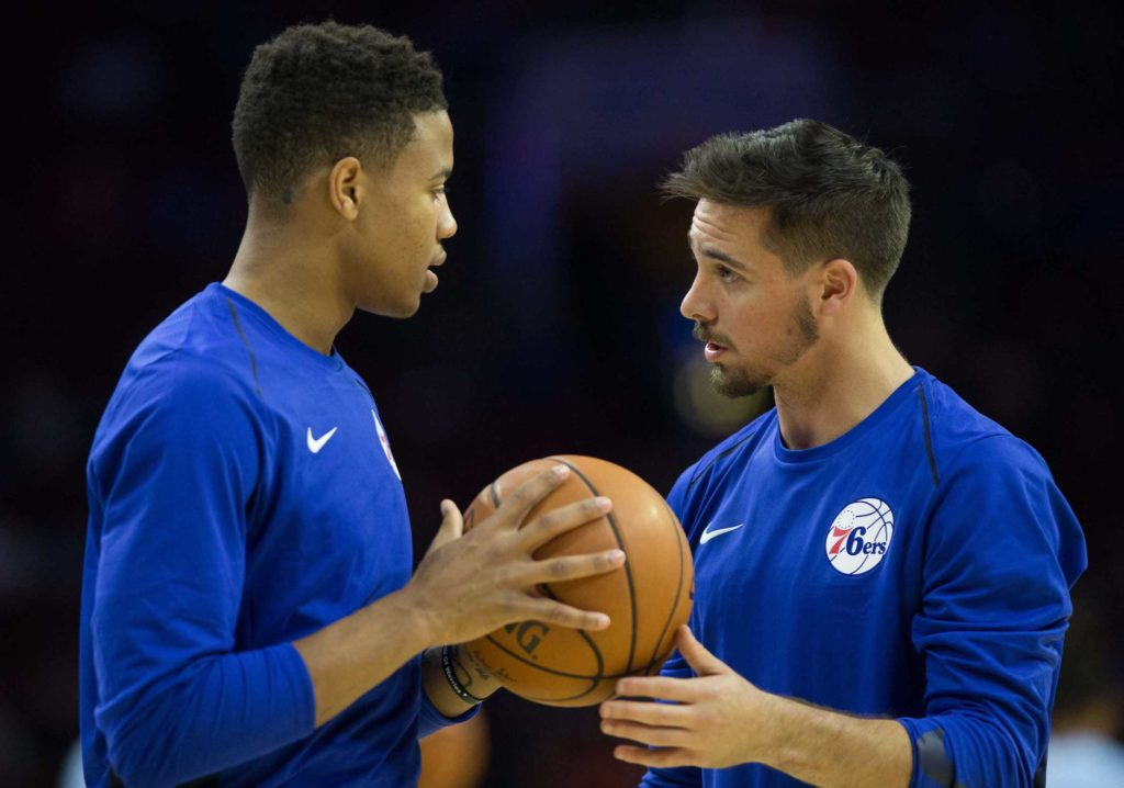 Markelle Fultz and T.J. McConnell