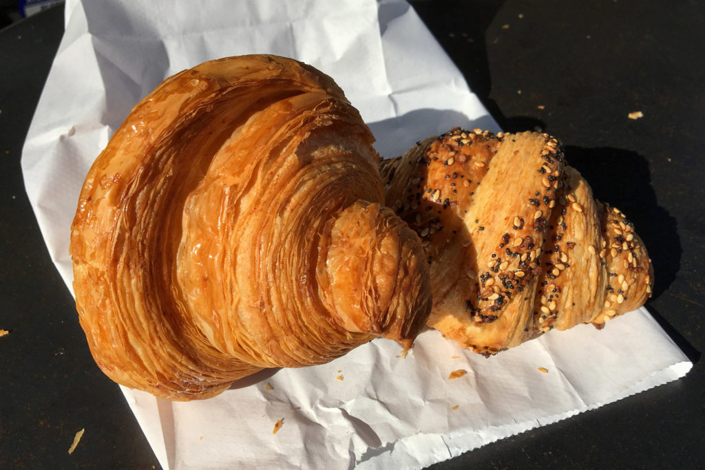 Croissants from Machine Shop Boulangerie