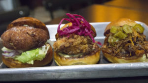 Sliders at MilkBoy South Street