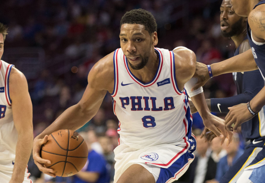 NBA: Preseason-Memphis Grizzlies at Philadelphia 76ers