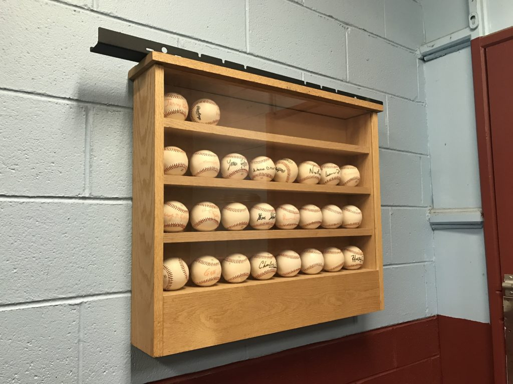 Baseballs signed by a couple Phillies players in 2008.