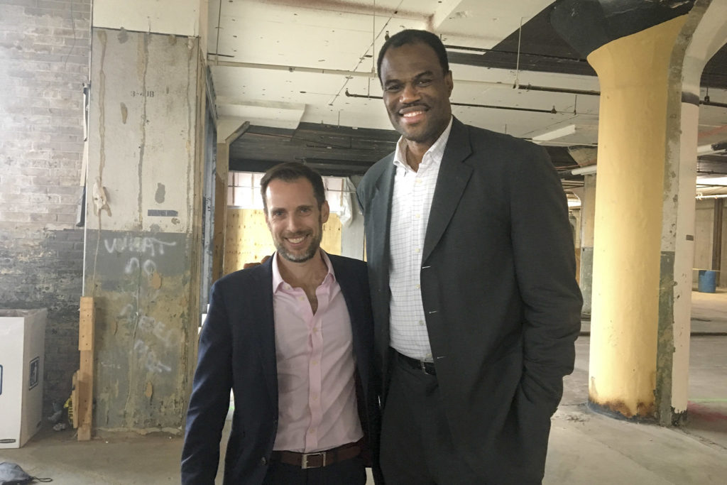 Fitler Club principal David Gutstadt and investor David Robinson