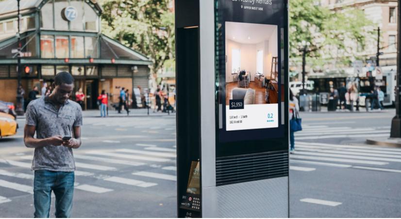 NYC's free WiFi kiosk