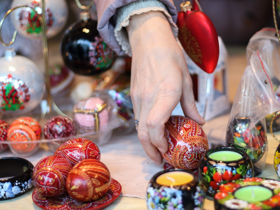 Ukrainian Easter eggs at Yolkstar.