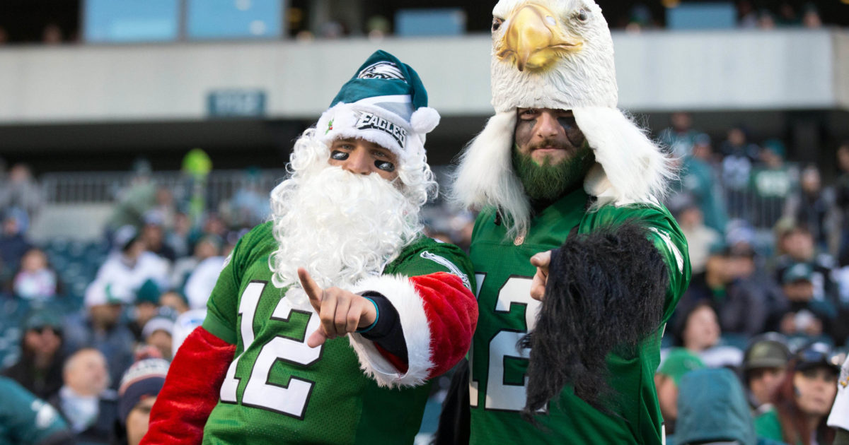 c14d19284c673e ESPN will mention Eagles fans throwing snowballs at Santa on ...
