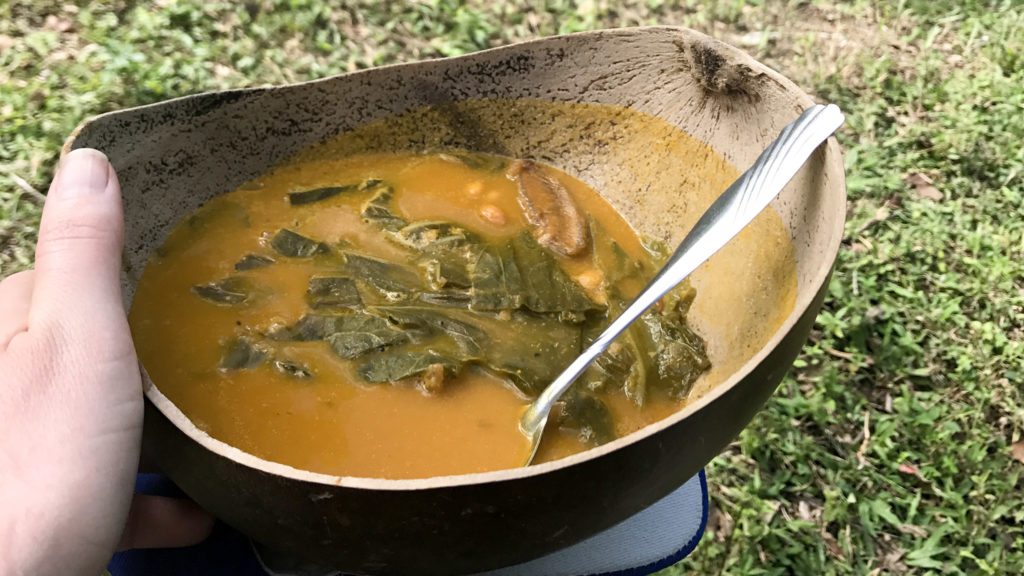 Soup Joumou, also known as Haiti's 'soup of independence'