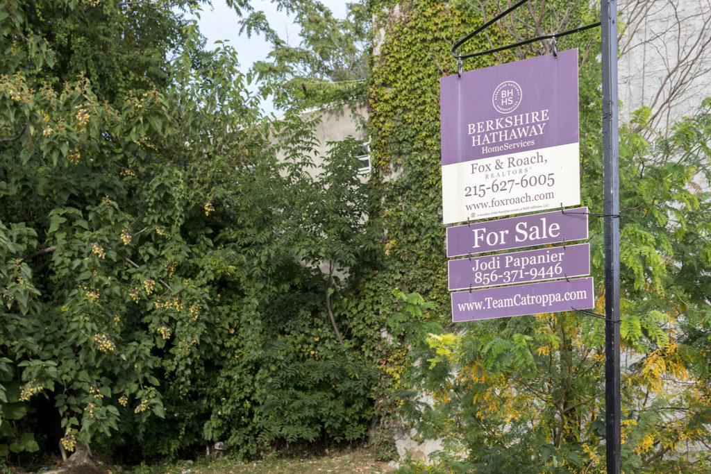 High-end real estate companies are prospecting in Strawberry Mansion