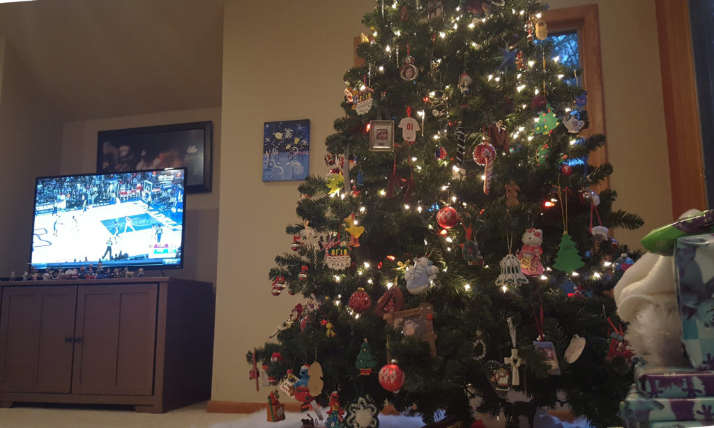 This tree-to-TV proximity is not ideal.