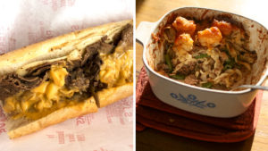 cheesesteak-hotdish