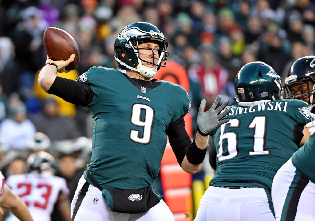NFL: NFC Divisional Playoff-Atlanta Falcons at Philadelphia Eagles