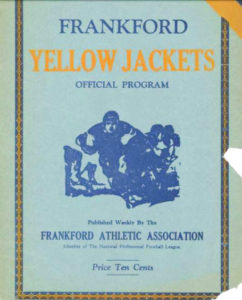 frankfordyellowjackets-football-program