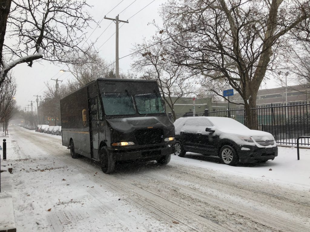 UPS keeps rolling