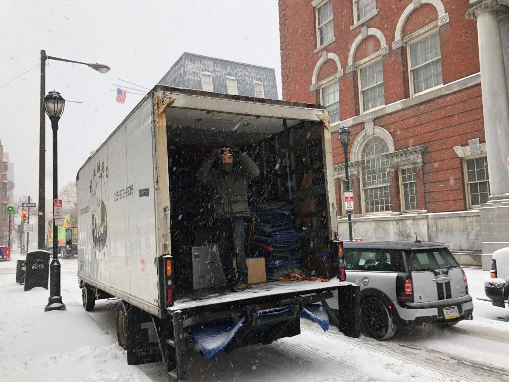 Snow doesn't stop Mambo Movers