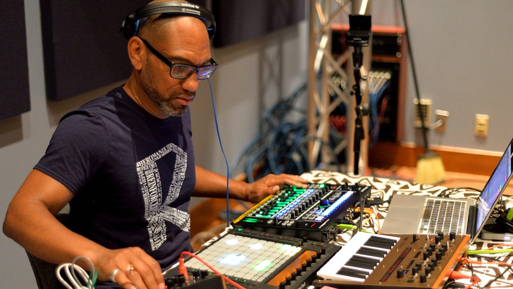 King Britt (Fhloston Paradigm) live on STAR'S END/WXPN on 30 July 2017 broadcast
