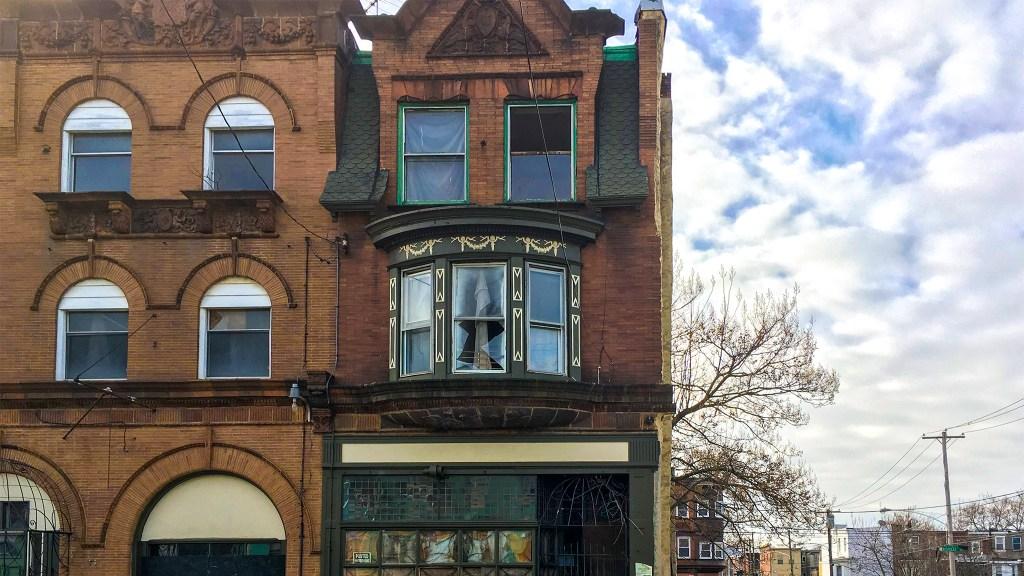 The Dox Thrash house on Cecil B. Moore Avenue near 24th Street
