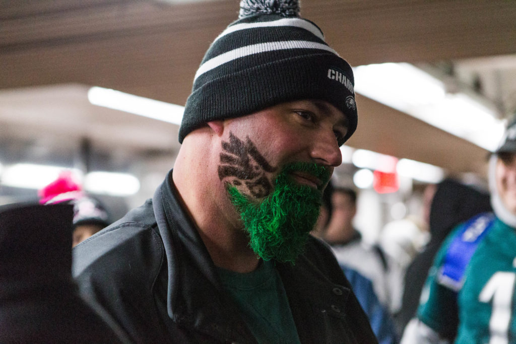 Green beards were not in short supply
