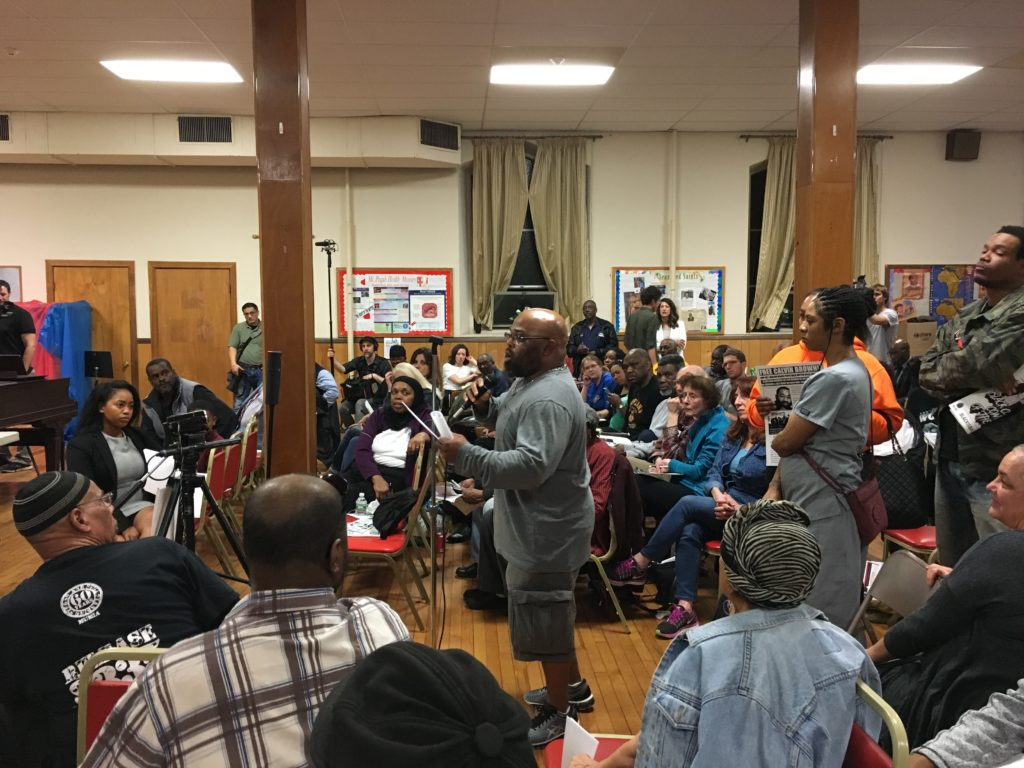 West Philly residents participated in a Q&A hosted by District Attorney Larry Krasner.