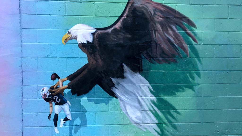'Bird Feed' in Bella Vista has been up since February