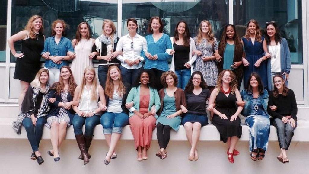 The Penn midwifery-nursing class of 2017