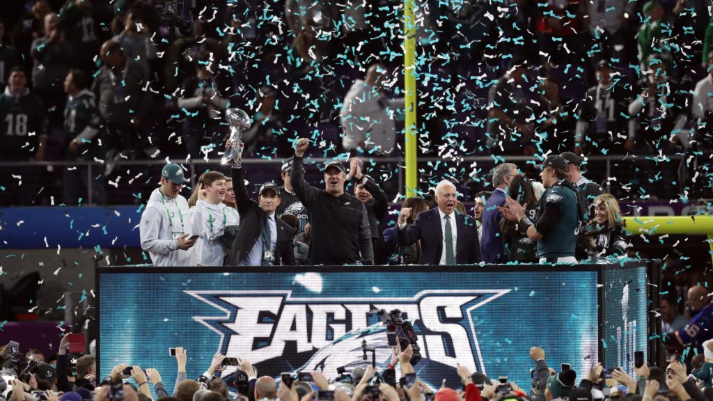 Image result for when did the eagles win the super bowl