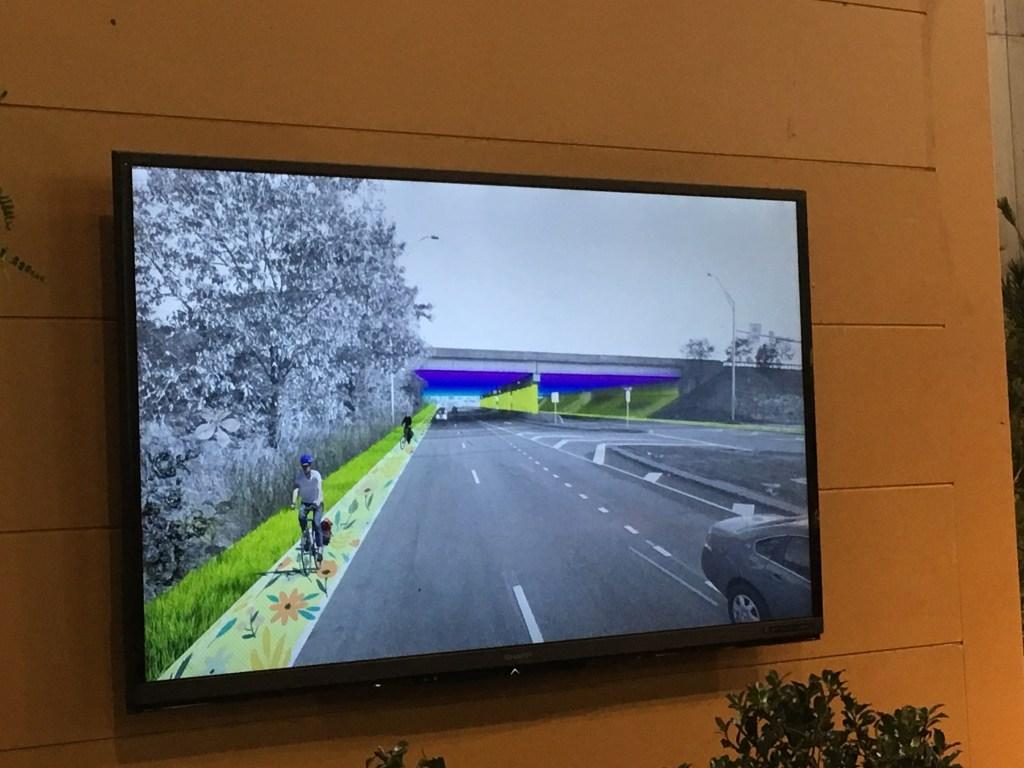A design proposal for a bike lane along Island Avenue