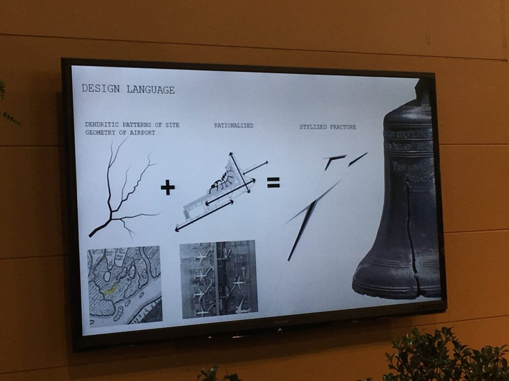 The crack in the Liberty Bell, translated into landscape design