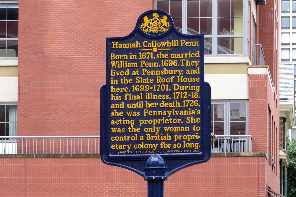 hannahcallowhillpenn-historicalmarker