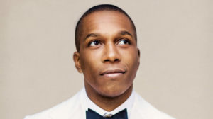 Leslie Odom Jr. on the cover of his new book, 'Failing Up'