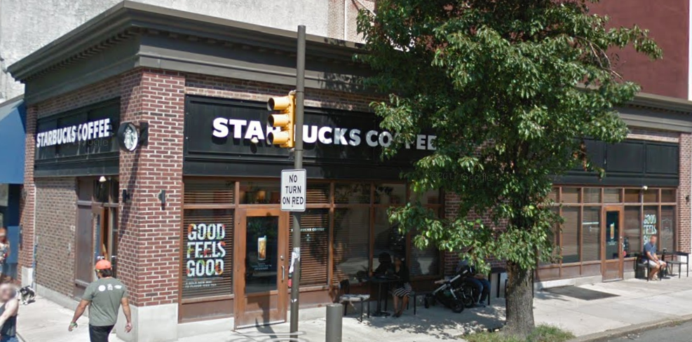 The Starbucks at 18th and Spruce