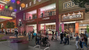 A rendering of Fashion District Philadelphia
