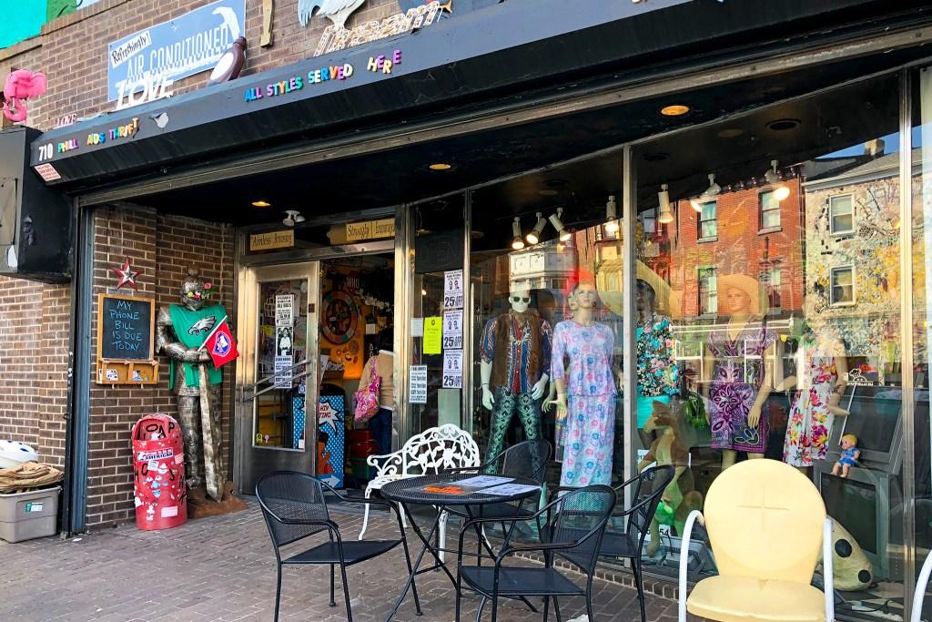 Philly AIDS Thrift in Queen Village