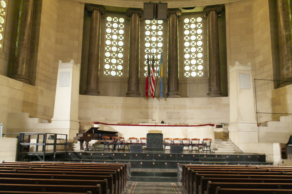 The chapel at Girard College