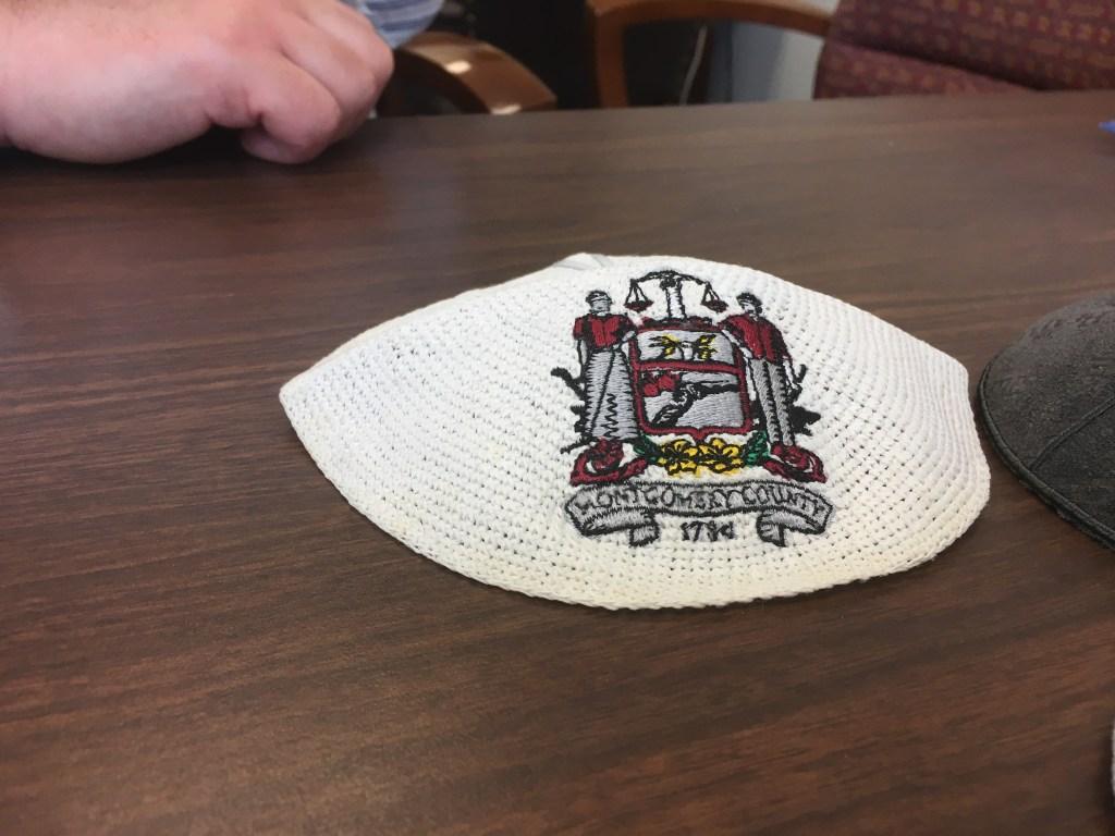 Uri Monson's Montgomery County yarmulke