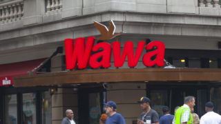 Wawa located on Broad St and Walnut St