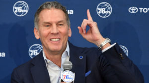 Sixers president of basketball operations Bryan Colangelo in 2017