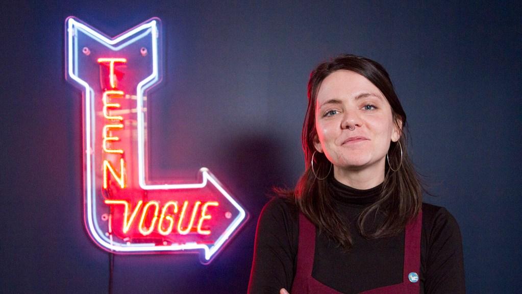 Teen Vogue News + Politics editor Allison Maloney