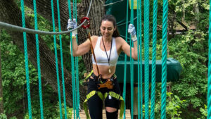Billy Penn reporter Mónica Zorrilla braved Treetop Quest Philly