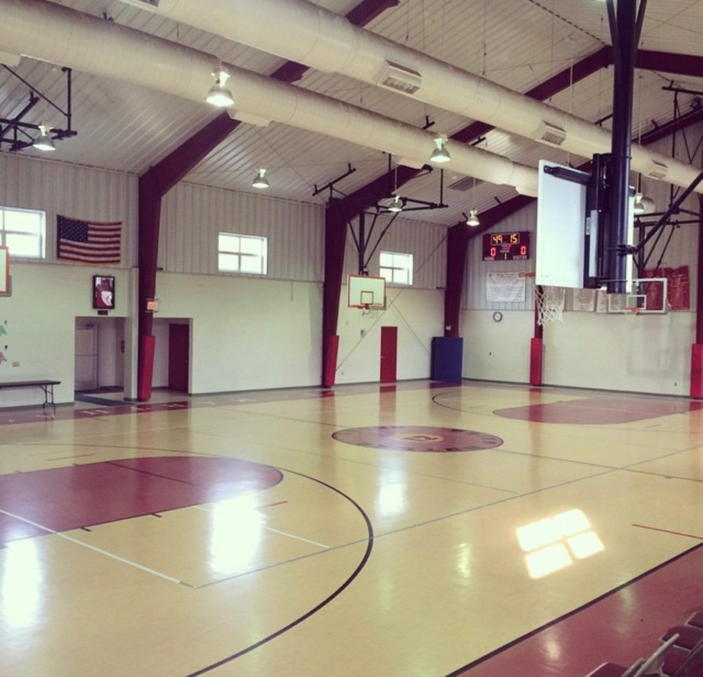 Brian Butler gym, home of The Martha League